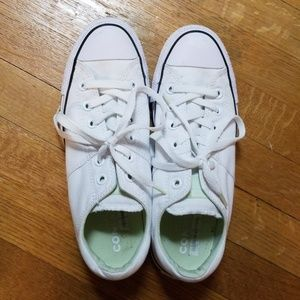 White Converse Shoes 9